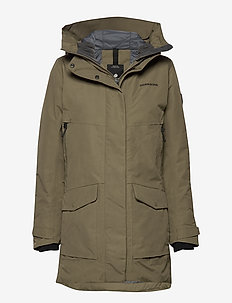 FRIDA WNS PARKA 3 - CROCODILE GREEN