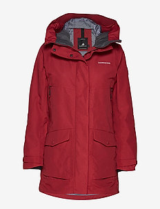 FRIDA WNS PARKA 3 - ELEMENT RED