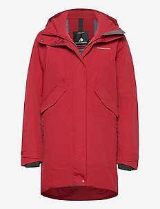 TANJA WNS PARKA 3 - parkasjackor - element red
