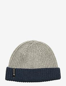 NILSON KIDS BEANIE 2 - hats - grey melange
