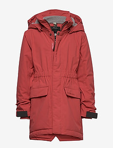 RONNE KIDS PARKA 2 - RASPBERRY RED