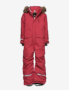 BJÖRNEN KIDS COVER 3 - snowsuit - raspberry red