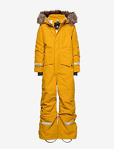 BJÖRNEN KIDS COVER 3 - snowsuit - yellow ochre