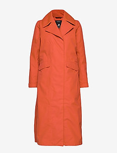 HANNA WNS COAT - trenchcoats - ember red