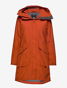 AGNES WNS COAT 3 - EMBER RED