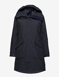 AGNES WNS COAT 3 - parkacoats - navy dust
