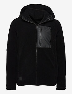 BOSSE USX JKT 2 - basic-sweatshirts - black