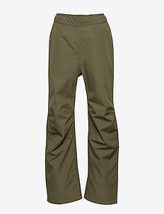 NANO YT RAIN PNT - pantalons - fog green