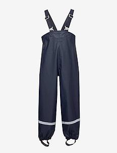 PLASKEMAN PANTS 3 - pantalons - navy
