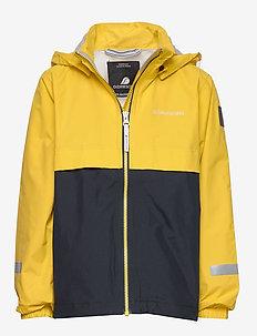 VIKEN KIDS JKT 3 - jackets - pollen yellow