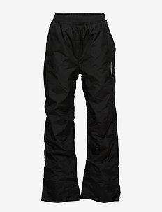 NOBI KIDS PANTS 5 - skallklær - black