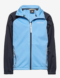 VINDEN KIDS JKT 2 - softshell jacket - breeze blue