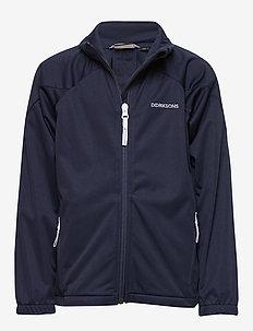 VINDEN KIDS JKT 2 - softshell jacket - navy