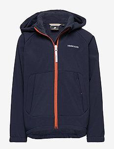 DELLEN KIDS JKT - softshell jacket - navy