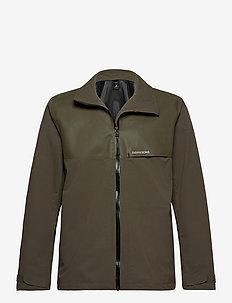 OLIVER USX JKT - vêtements de pluie - fog green