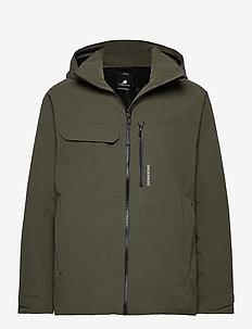 ASTON USX JKT - rain coats - fog green
