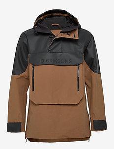 JULIUS USX ANORAK - vêtements de pluie - almond brown