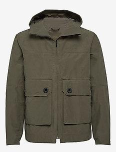 STELLAN USX JKT - rain coats - dusty olive