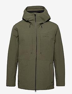 OVE USX JKT - vêtements de pluie - dusty olive