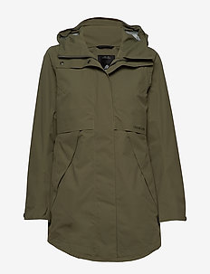 EDITH WNS PARKA 2 - DUSTY OLIVE