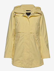 EDITH WNS PARKA 2 - parkacoats - light yellow