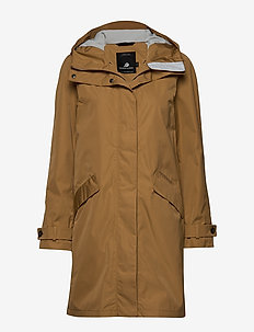 REX WNS PARKA 2 - parka coats - almond brown