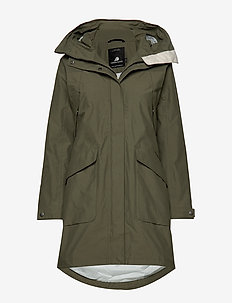 AGNES WNS COAT 3 - parka coats - dusty olive
