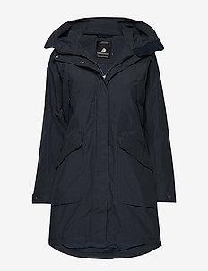 AGNES WNS COAT 3 - parka coats - navy dust