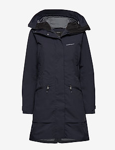 ILMA WNS PARKA 2 - parka coats - dark night blue