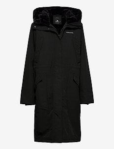 NICOLINA WNS PARKA - parka coats - black