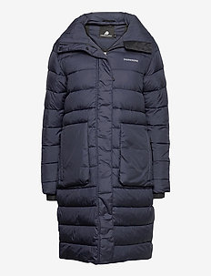 HILDA WNS PUFF PARKA - dunkappor - dark night blue