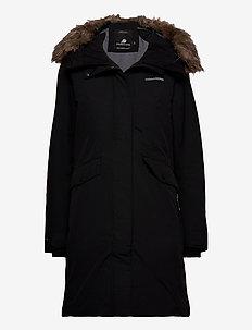 ERIKA WNS PARKA - parka coats - black