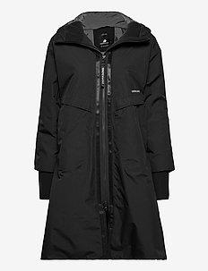 AINO WNS PARKA 2 - parka coats - black