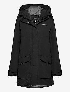 FRIDA WNS PARKA 4 - parka coats - black