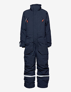 ZEKE KIDS COVERALL - snowsuit - navy