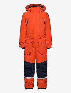 ZEKE KIDS COVERALL - snowsuit - poppy red