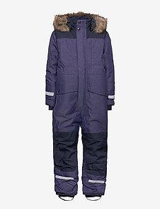 POLARBJÖRNEN KIDS CO - snowsuit - denim blue
