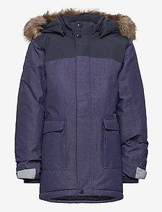 KURE KIDS PARKA 2 - isolerede jakker - denim blue
