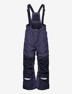 IDRE KIDS PANTS 3 - vinterbyxor - denim blue