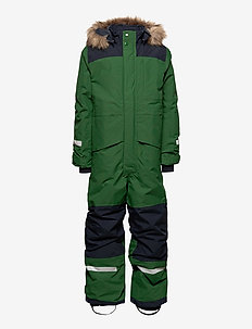 BJÖRNEN KIDS COVER 4 - snowsuit - leaf green
