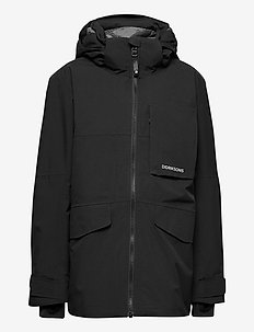 LUKE BS JKT - shell & rain jackets - black