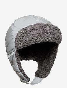 BIGGLES REFL CAP 2 - mützen - silver