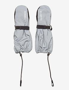BIGGLES REFL.MITTEN2 - handschuhe - silver