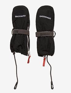 BIGGLES ZIP MITTEN 4 - handschuhe - black