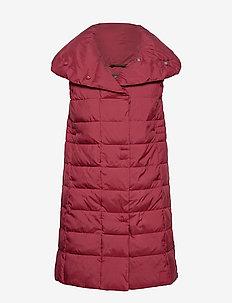 MY WNS VEST - puffer vests - velvet red