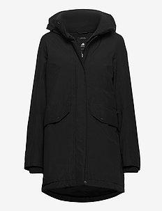 SANNA WNS PARKA - parka coats - black