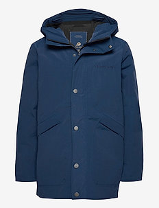 ALVIN USX COAT - parkatakit - cold blue sea
