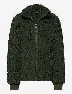BRYSSEL BS JKT 2 - fleecetøj - forest green
