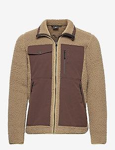TRULS USX SWTR - basic sweatshirts - beige storm