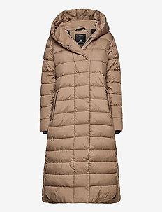 STELLA WNS COAT 2 - padded coats - beige storm